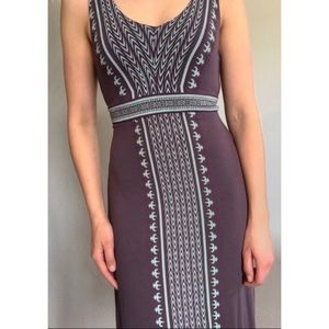 Athleta Stretch Knit Fitted Summer Dress